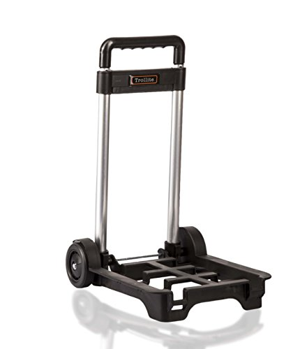 LeanPac Small Lightweight and Compact Folding Travel Trolley. Weighs 900grams Only. Amazons Choice.