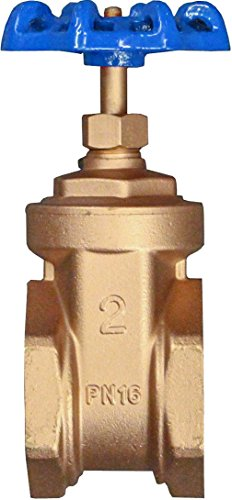 2 Brass Gate Valve - IrrigationKing RKGV2 2
