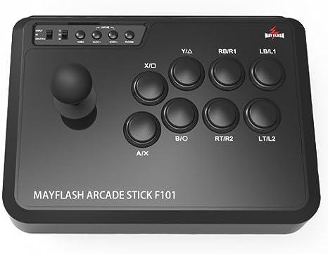 MAYFLASH ARCADE STICK F101 para PC/PS3/Switch: Amazon.es: Electrónica