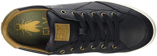 FLY London Bato835fly, Zapatillas para Hombre Negro (Black)
