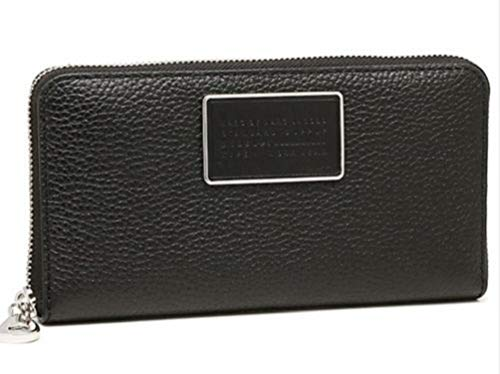 - Marc by Marc Jacobs M0007276-001 Ligero Large Clutch Zip Wallet Black