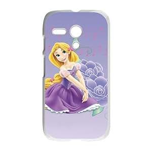 Motorola G White phone case Disney Princess Rapunzel DPC5136127