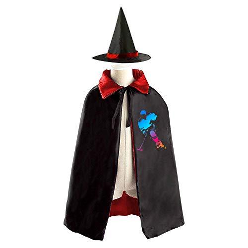 Halloween Costume Children Cloak Cape Wizard Hat Cosplay