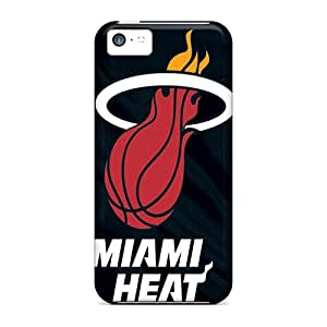 Tpu Davilacase Shockproof Scratcheproof Miami Heat Hard Case Cover For Iphone 5c