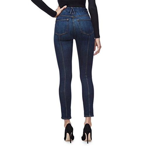Pantaloni Pantaloni Donna Sentao Jeans Stretch Alta Blu Vita Pantaloni A Matita scuro Skinny Lunghi Leggings Slim 8dWOdBS