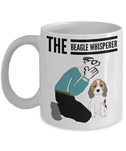 The Beagle Whisperer White Mug The Perfect Beagle Gift Lovers