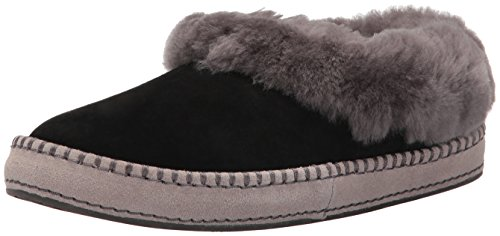 UGG Women's Wrin Ballet Flat, Black, 9 M US (Sale Women Ugg)