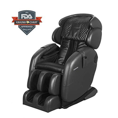 Space-Saving Zero Gravity Full-Body Kahuna Massage Chair Recliner LM6800S (Black)