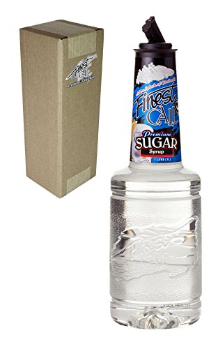 - Finest Call Premium Pure Cane Sugar Simple Syrup Mix, 1 Liter Bottle (33.8 Fl Oz), Individually Boxed