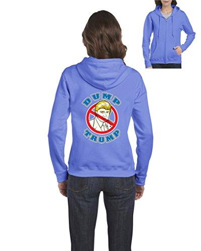 Carolina Womens Hoody Zip Sweatshirt - 9