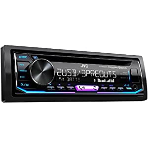 JVC KD-R995BTS 1-Din CD Receiver Featuring BT/Front & Rear Dual USB/13-Band EQ