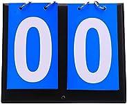 Kikeep Multi Sports Score Flip Scoreboard Score Keeper Portable Table Top Scoreboard Flipper Coach Scorebook