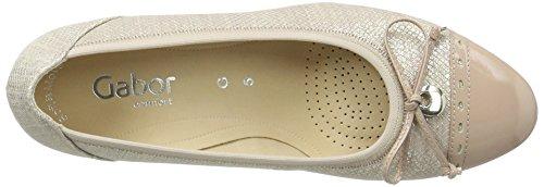 Gabor Shoes Comfort, Zapatos de Tacón para Mujer Beige (skin/nude 82)