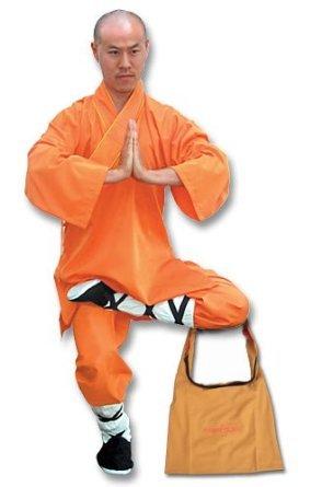 Tiger Claw Shaolin Monk Robe - Orange - Large
