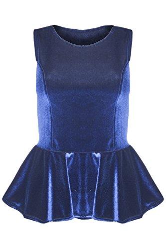 Women Sleeveless Flared Party Ladies Plus Size Skater TOP Dress - 4