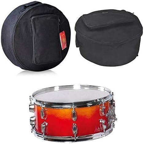 Bolsa de tambor con bandolera, bolsillos exteriores y accesorios para bolsa de caja clara.: Amazon.es: Instrumentos ...