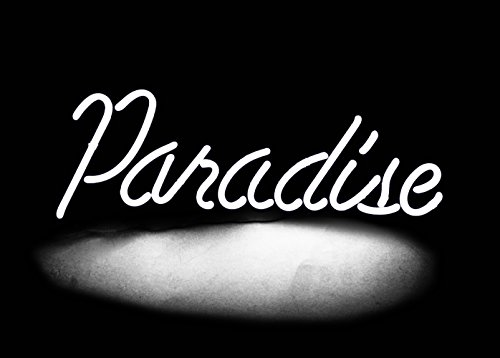 Led Neon Beer Sign Lamp Light Sculpture'Paradise' 14
