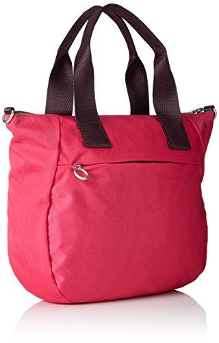 Oilily Groovy Handbag Mhz - Bolsos maletín Mujer Rosa (Pink)