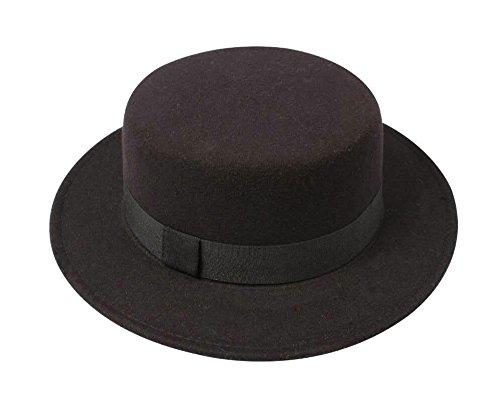 Cheap Pork Pie Hats (Pork Pie Hat, Black)