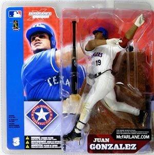 McFarlane Toys MLB Sports Picks Series 3 Action Figure Juan Gonzalez White Jersey (Gonzalez Jersey)