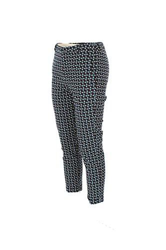 Pantalone Donna Hanita 46 Blu H.p742.1960 Autunno Inverno 2017/18