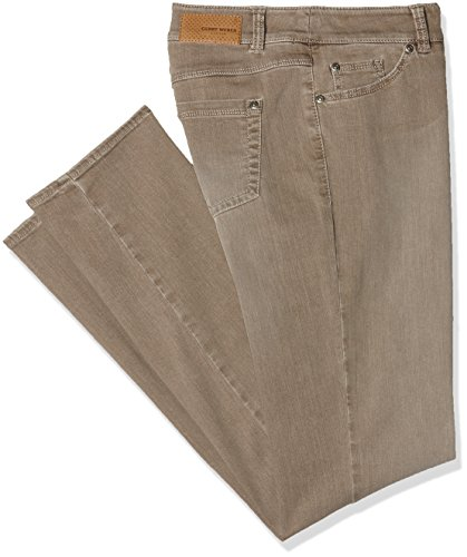 Use Grau Weber Denim 767002 Mit Gerry taupe Jeans Donna tC4Bf7wq7