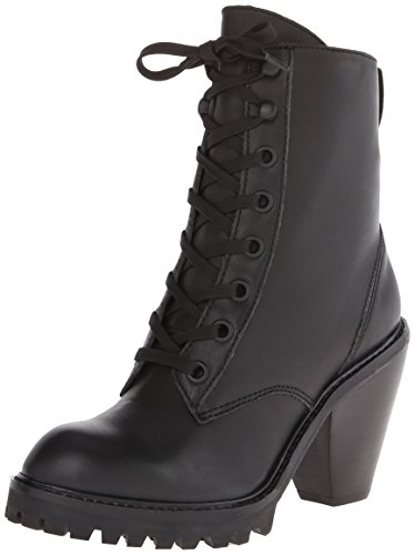 Combat Black Boot Dagger Kelsi Brooklyn Breda Women's IXqUY