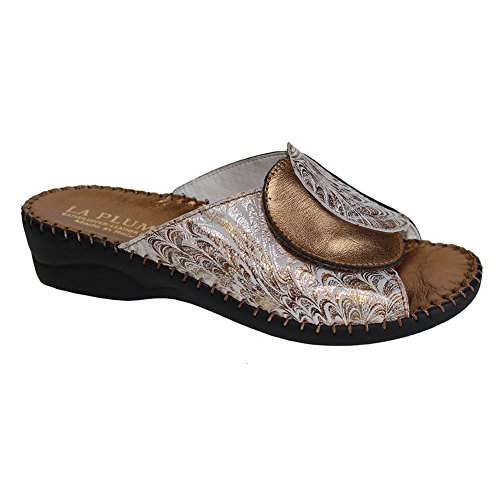 La Plume Paola Womens Sandals, Copper Ice, Size - 37, used for sale  Delivered anywhere in USA