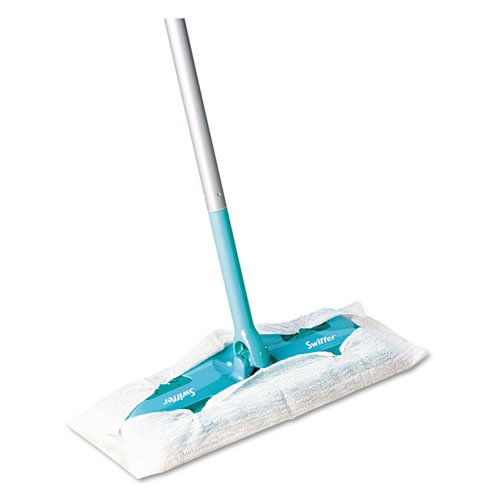 "Swiffer 09060EA Sweeper Mop, 10"" Wide Mop, Green"