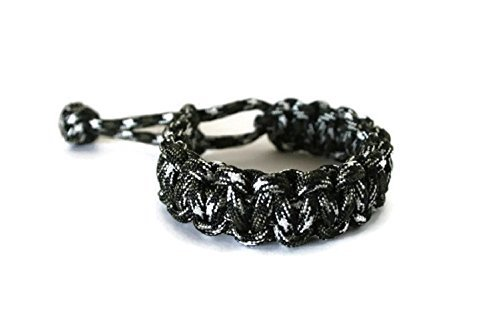 Mad Max Tom Hardy Style Paracord Survival Bracelet for Men
