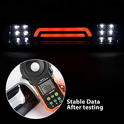 New Fits For Dodge RAM Truck 09-17 3D LED Bar 3rd Third Tail Brake Light Rear Cargo Lamp High Mount Stop Lights (Black/Smoked): Automotive