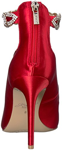 Badgley Mischka Juvel Womens Alanis Heeled Sandal Red