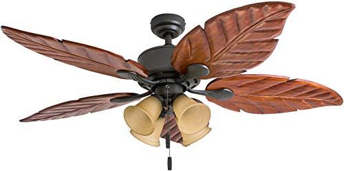 Honeywell Ceiling Fans 50503-01 Royal Palm 52″ Ceiling Fan, Bronze