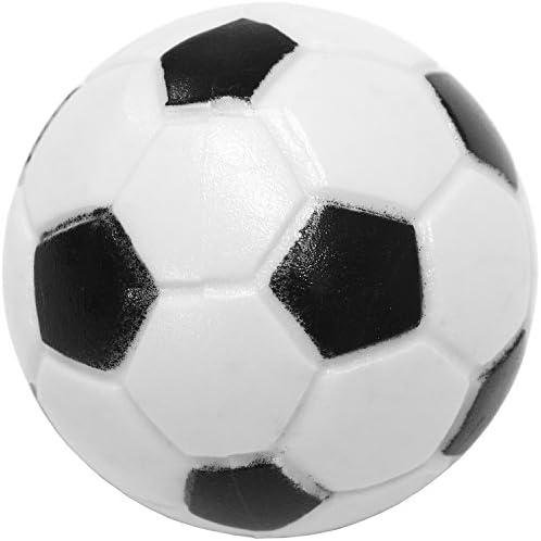 Maxstore Se mezclan 12 Piezas de Bolas Kicker, 6 variedades Diferentes (2X Corcho, 4X PE, 2X PU, 4X ABS), 35 mm de diámetro, Bolas de Kickball de Mesa, Bola: Amazon ...