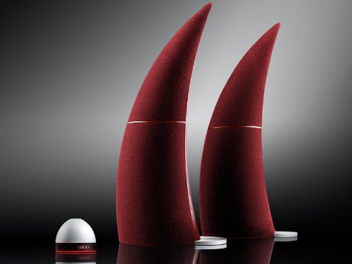 Edifier USA SPINNAKER Bluetooth Media Speaker System (Burgundy) by Edifier USA