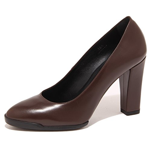Tod's 3299P Scarpa Marrone Marrone Decollete Decollete WY Woman Scuro Donna Shoe 4TTxw