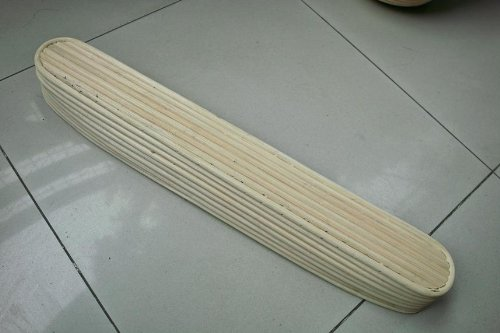 2 Pcs Masterproofing Long Banneton Basket-- 44*9*5.5cm LB-42