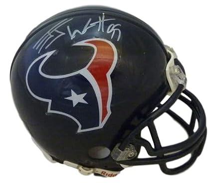 Image Unavailable. Image not available for. Color  JJ Watt Autographed  Houston Texans Riddell Mini Helmet JSA 8cd75af87