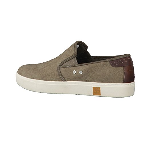 Timberland Slip-On shoes Amherst Double Gore A15LL Brown uqSq203