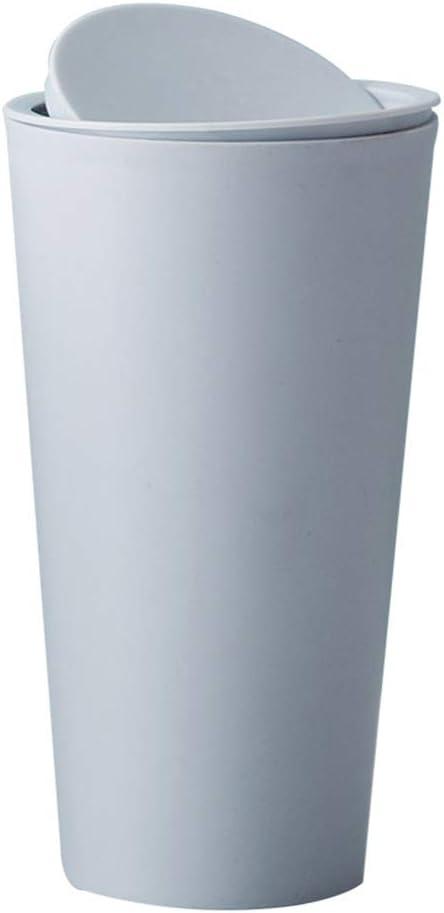 Gwxevce Mini Cestino per rifiuti Piccolo Desktop Cestino da Tavolo Riciclato Cestino per Auto Home Office Room Beige