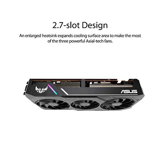 ASUS TUF Gaming 3 AMD Radeon RX 5600XT OC Edition Gaming Graphics Card (PCIEe 4.0, 6GB, GDDR6, HDMI, DisplayPort, 1080p… 41L7q544miL. SS555