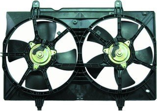- QP N303A-a Nissan Quest Replacement AC A/C Condenser Radiator Cooling Fan/Shroud Assembly