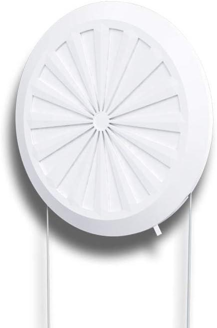 Grille de ventilation ronde verrouillable 90-160 mm