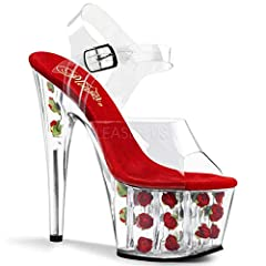 Beautiful high heel made for any special occasion made by Pleaser USA.
