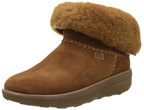 - FitFlop Women's Mukluk Shorty 2 Boots Mid Calf, Chestnut, 7.5 M US