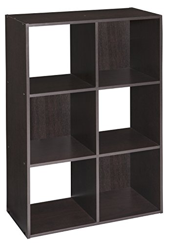 ClosetMaid 4186 Cubeicals Organizer, 6-Cube, Chocolate