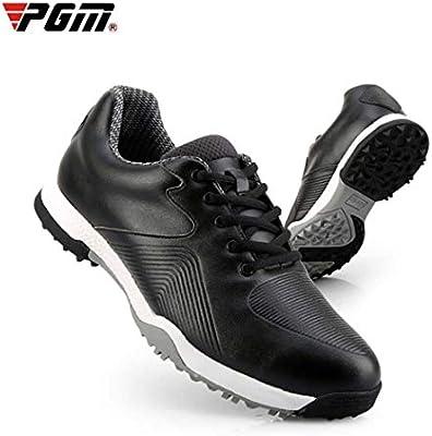 XYANZ Zapatos de Golf para Hombre al Aire Libre, Impermeables, Transpirables, Antideslizantes, Zapatillas de Golf, para Correr, para Hombre, Negro, 39: Amazon.es: Hogar