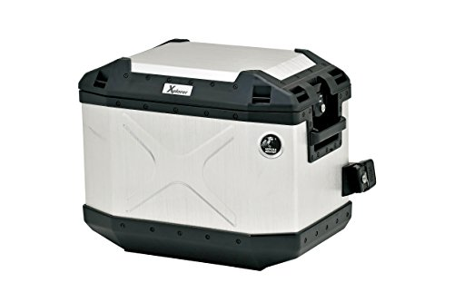 - HEPCO & BECKER (Hepuko and Becker) XPLORER (Explorer) side case 30 right aluminum + reinforced plastic 30L Silver 610209-0000