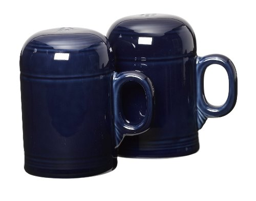 Fiesta Rangetop Salt and Pepper Set, Cobalt (Stove Top Salt And Pepper Shakers)