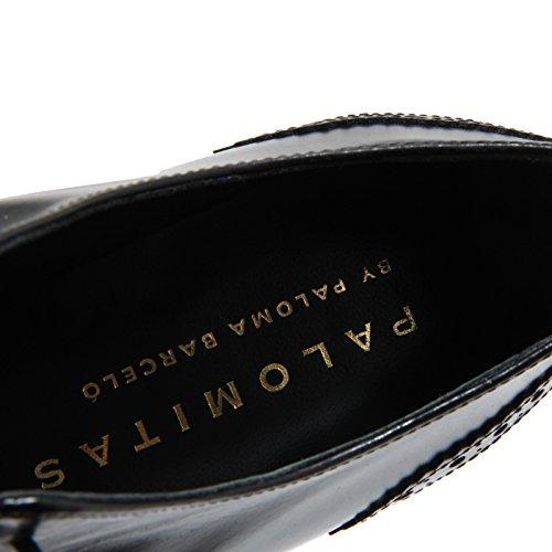 Donna Woman 4138n Shoes Nero Scarpe Palomitas Allacciata Scarpa qppFxwUIA